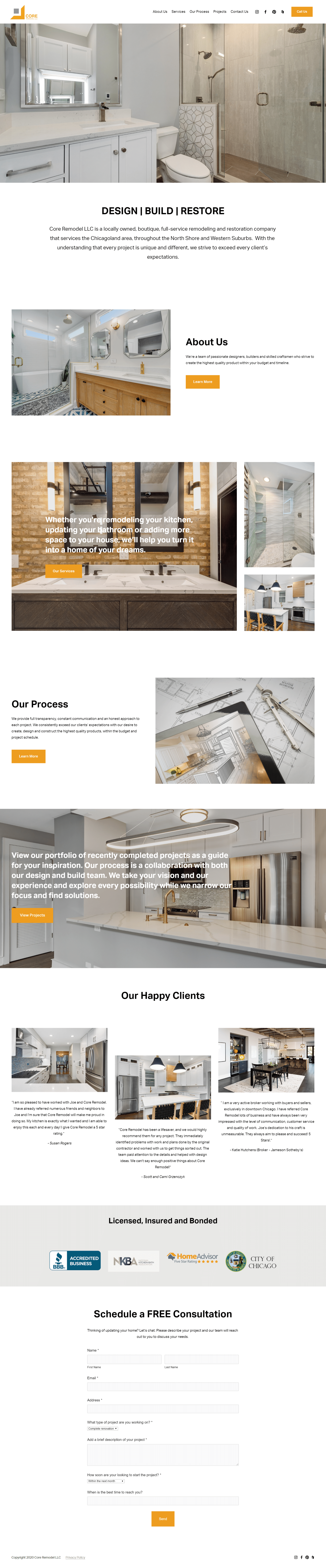 seo for remodeling contractor in sacramento area